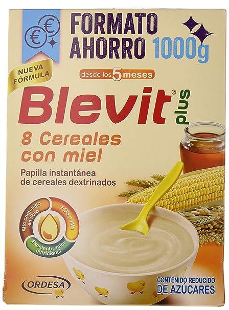 Blevit Plus 8 Cereales Miel - 1000 gr.