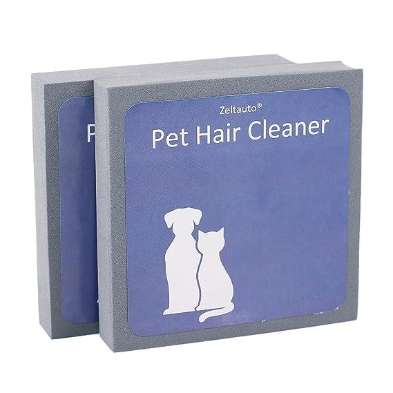 Zeltauto - Limpiador de pelo para mascotas, reutilizable ...