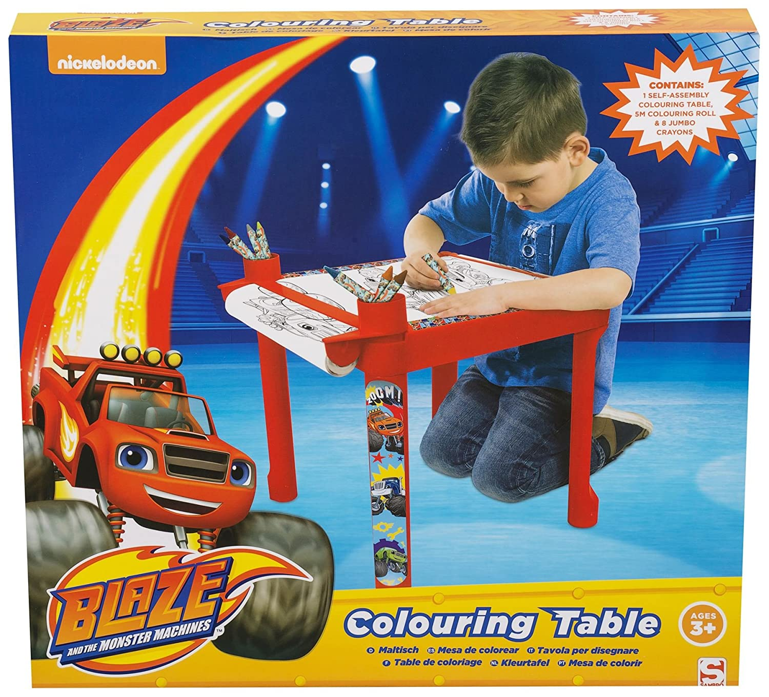 Blaze Colouring Creative Learning Drawing Table