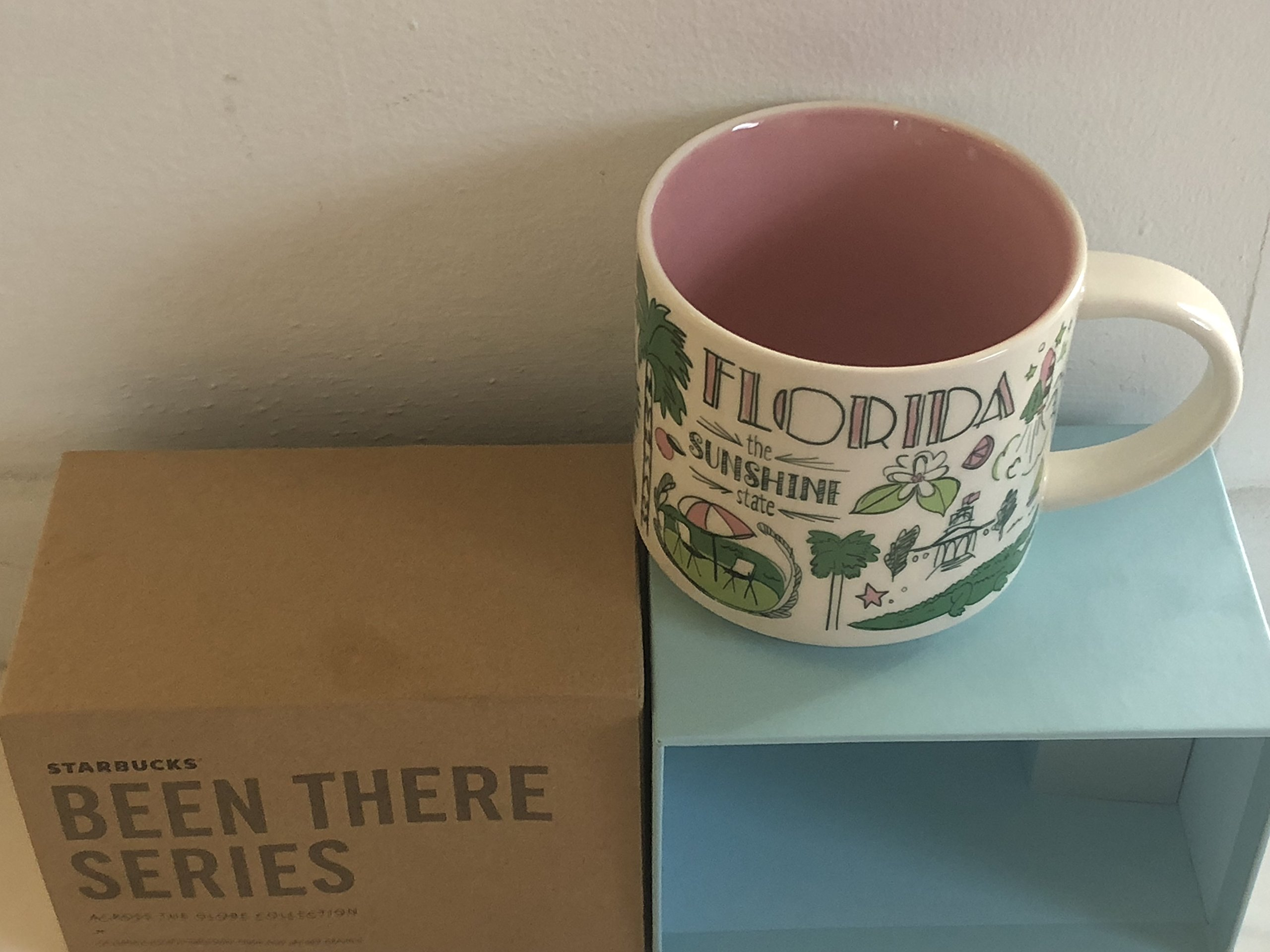 Starbucks Florida Been There Series (BTS) 14 Ounce Mug