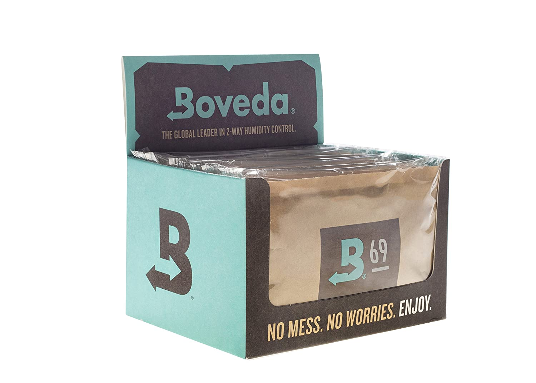 Boveda 65-Percent RH Retail Cube Humidifier/Dehumidifier, 60gm, 12-Pack B65-60-OWC