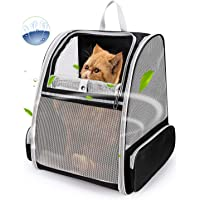 Lollimeow Pet Carrier Backpack for Dogs and Cats,Puppies,Fully Ventilated Mesh,Airline Approved,Designed for Travel…