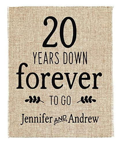 20th Anniversary Gift | 20th Wedding Anniversary Gift | Gift for ...