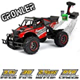 RC CHARGERS Growler Remote Controlled Off Road Truck, 1:12 Scale | Polycarbonate Body, Rugged Suspension, Off-Road Capable, 2