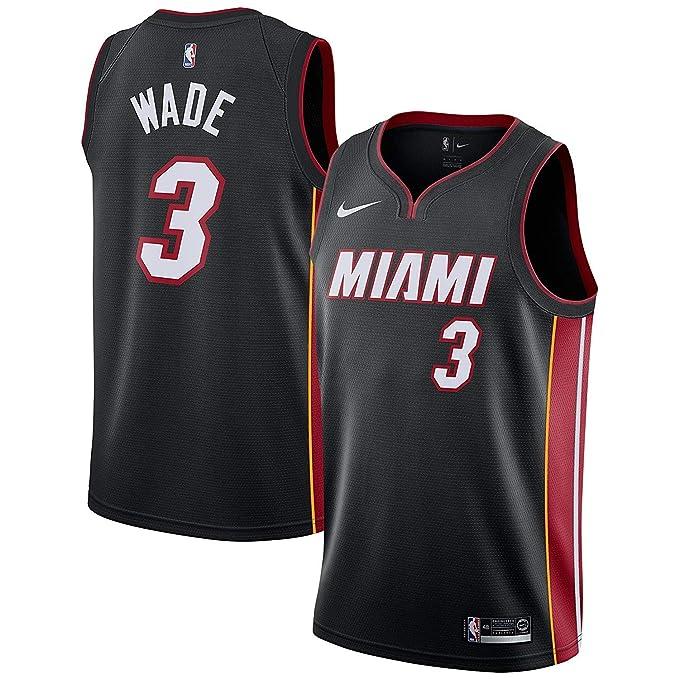 Nike MIA M Nk Swgmn JSY Road - Camiseta 2ª Equipación Miami Heat ...