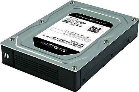 StarTech.com 35SAT225S3R - Caja adaptadora SATA con Raid de 2 bahías (2.5 a 3.5
