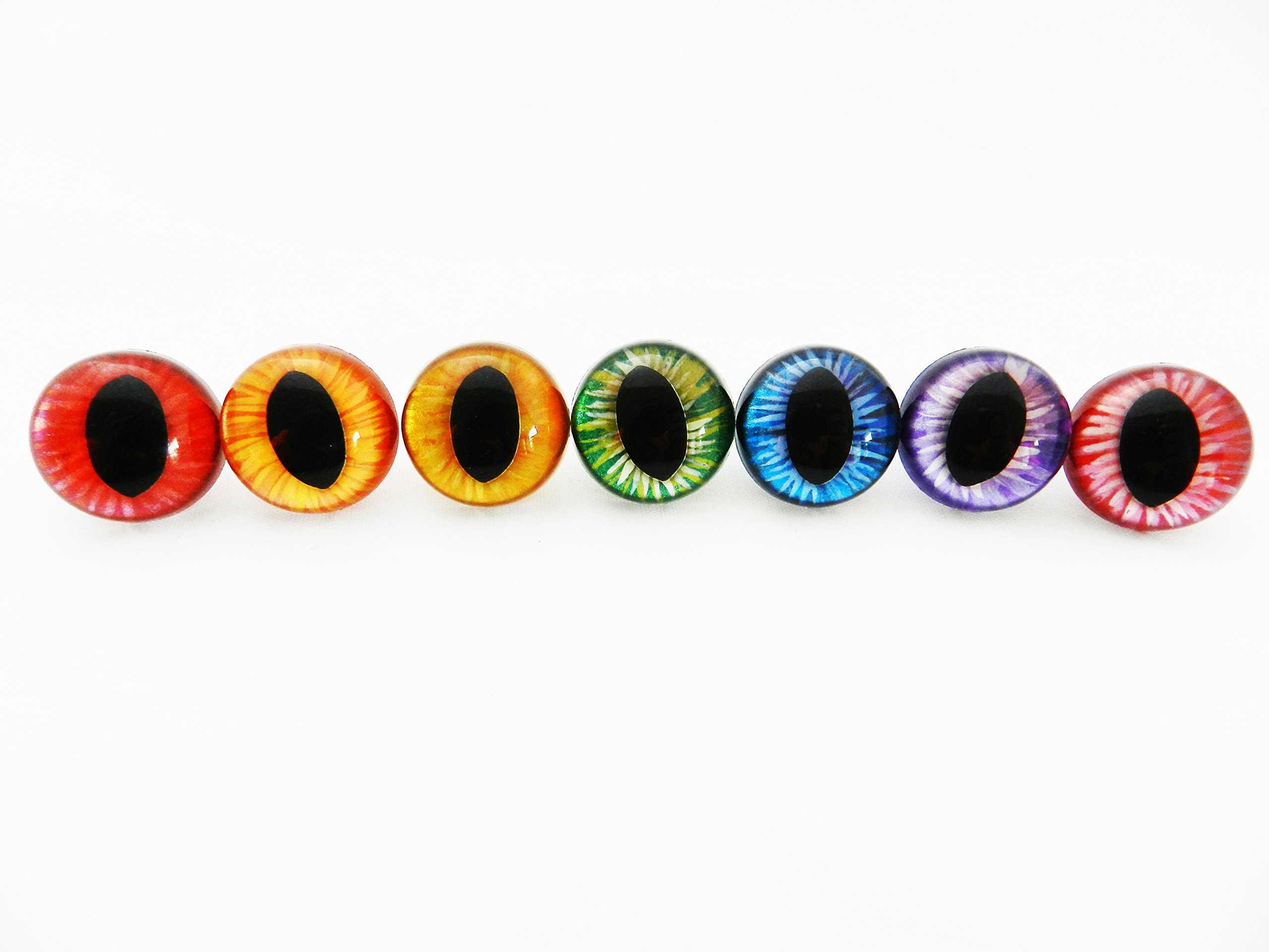 Premium Dragon Saftey Eyes (15mm)