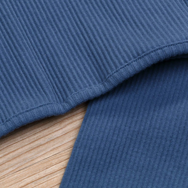 TinyThing 6M-5T Kids Unisex Girls /& Boys Soft Comfy Cotton Ruffle Sleepwear Pajamas 2pcs Set
