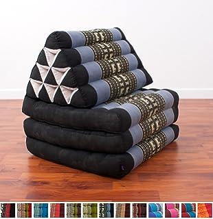 Amazon.com: Leewadee Foldout Triangle Thai Cushion, 67x21x3 inches ...