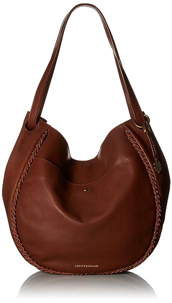 Lucky Brand Avila LG Shopper Hobo bolsa, Marrón (Brandy), Talla única: Amazon.es: Ropa y accesorios
