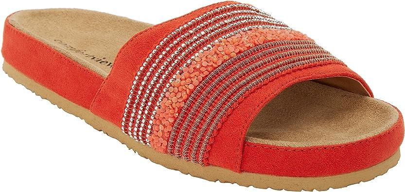 Wide Width The Baylor Footbed Sandal