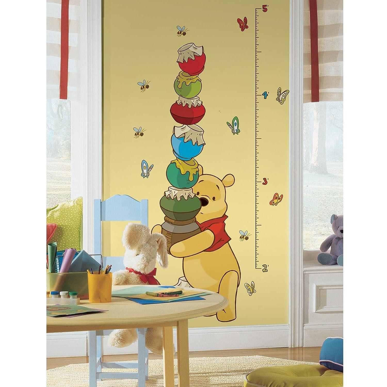 Amazon.com: Roommates Rmk1501Gc Pooh And Friends Peel & Stick Growth ...
