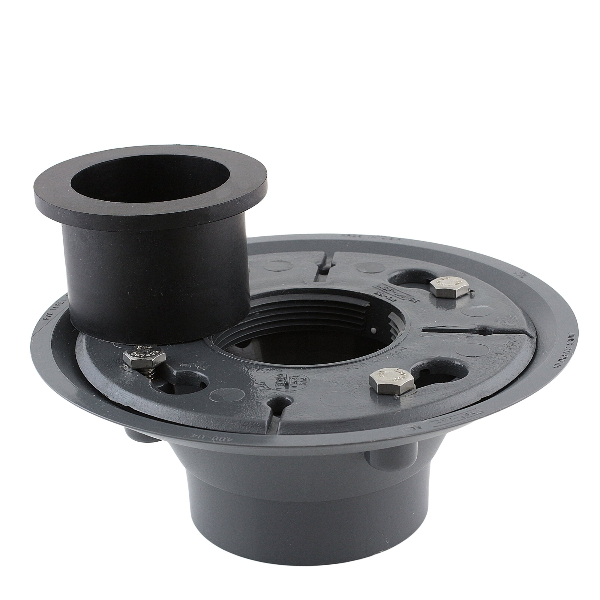 Aqva DBASE2-PVC+DSEAL-2 Luxe PVC Shower Drain Base with Rubber Gasket by Aqva (Image #2)