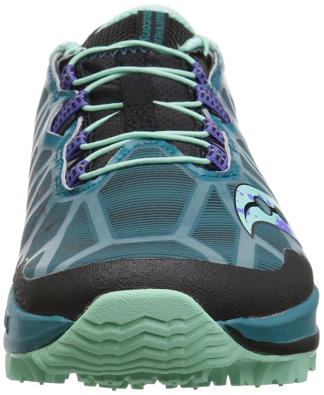 Saucony Women's Koa St Running-Shoes B077Y4FPJ9 9.5 B(M) US|Green/Black/Aqua