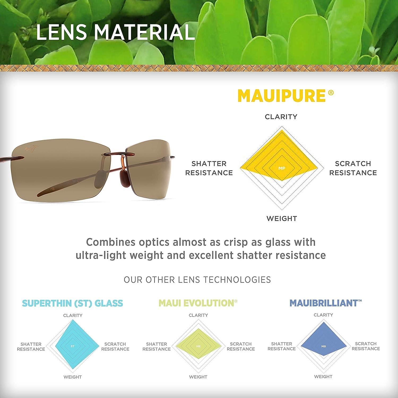9f20527e7046 Amazon.com  Mens Maui Jim Lighthouse Polarized Sunglasses (Rootbeer Frame Hcl  Bronze Lens)  Shoes