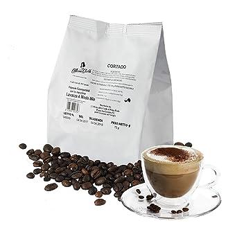 100 Cápsulas de Café Compatibles con Lavazza A Modo Mio, paquete de 100 capsulas Cortado