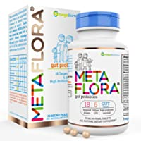 METAFLORA Probiotics Supplement—30 Pearl Tablets—Digestive Supplement Formula— Time Released—Patented Delivery Technology—Easy to Swallow