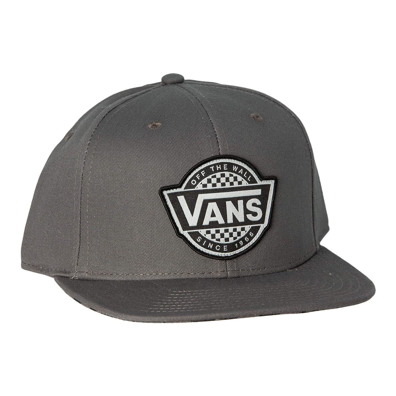 a3d6466dd8 Amazon.com  Vans MN Full Patch Snap Snapback Baseball Cap Black VQPU9RJ   Clothing