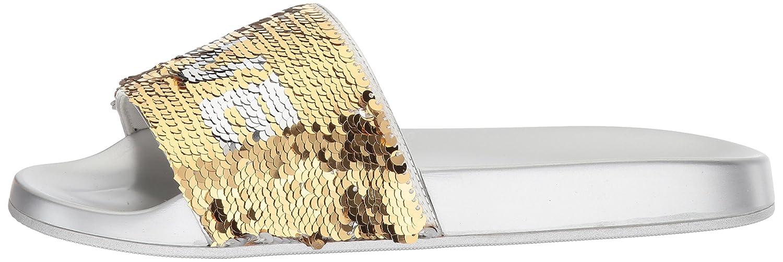 ALDO Women's Sunrize Slide Sandal B0743S653C 11 B(M) US|Silver