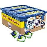 Dash Pods 3in1 Detersivo Lavatrice in Monodosi, profumo Ambra, Maxi Formato da 117 (3x39) Capsule
