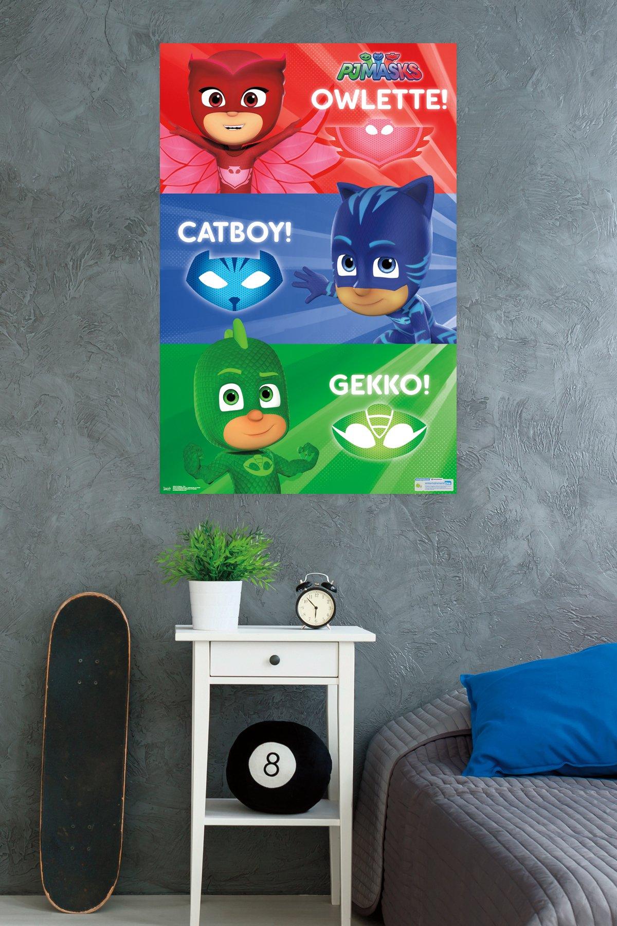 Trends International PJ Masks Trio Wall Poster 22.375'' x 34''