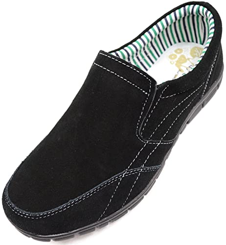 SNUGRUGS - Mocasines de Ante para Mujer: Amazon.es: Zapatos ...
