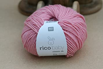 RICO DESIGN BABY CLASSIC DK  KNITTING YARN 50g ***ALL COLOURS***