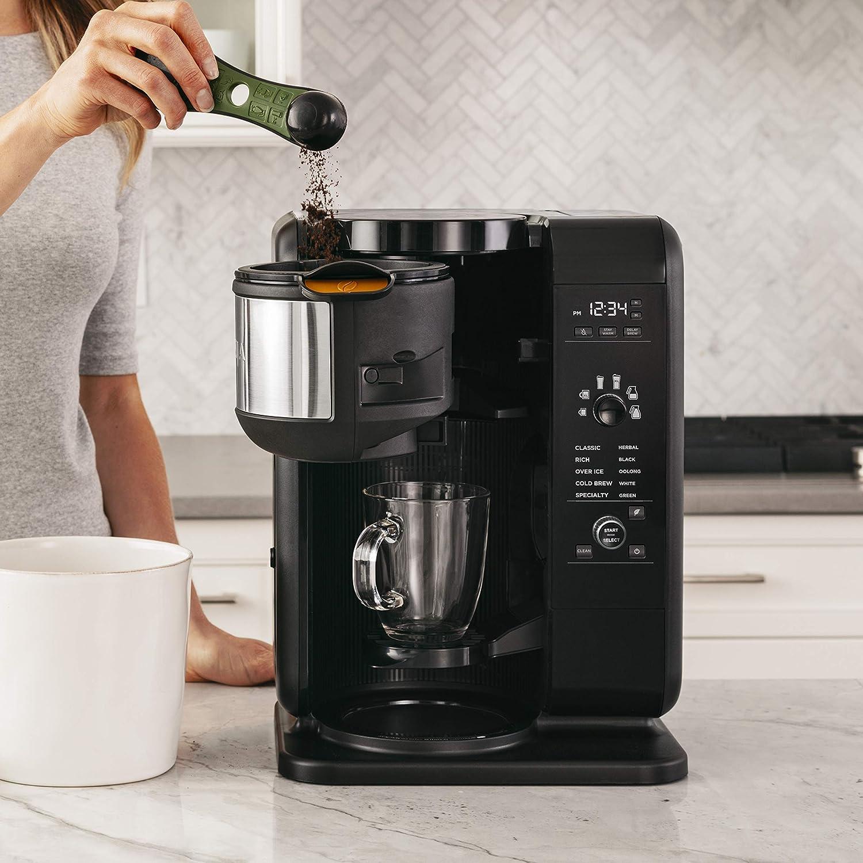 Amazoncom Ninja Hot And Cold Brewed System, Auto Iq Tea And