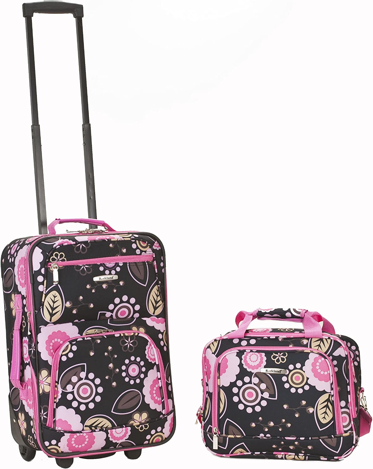 Rockland Luggage 2 Piece Printed Set, Pucci, Medium