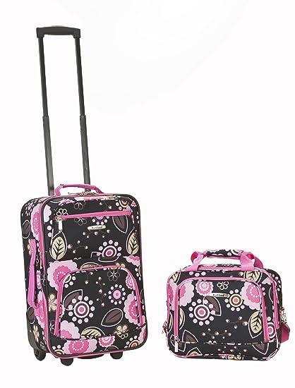 Amazon.com: Rockland, juego de equipaje de dos piezas, Pucci ...
