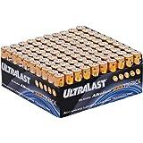 Ultralast Alkaline Battery Bulk AAA - 100 Pack