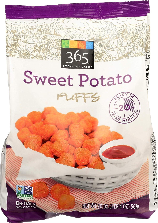 365 Everyday Value, Sweet Potato Puffs, 20 oz, (Frozen)