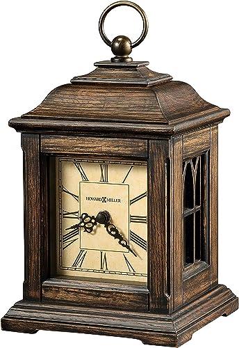 Howard Miller Talia Mantel Clock 635-190 Antique Oak with Quartz Movement