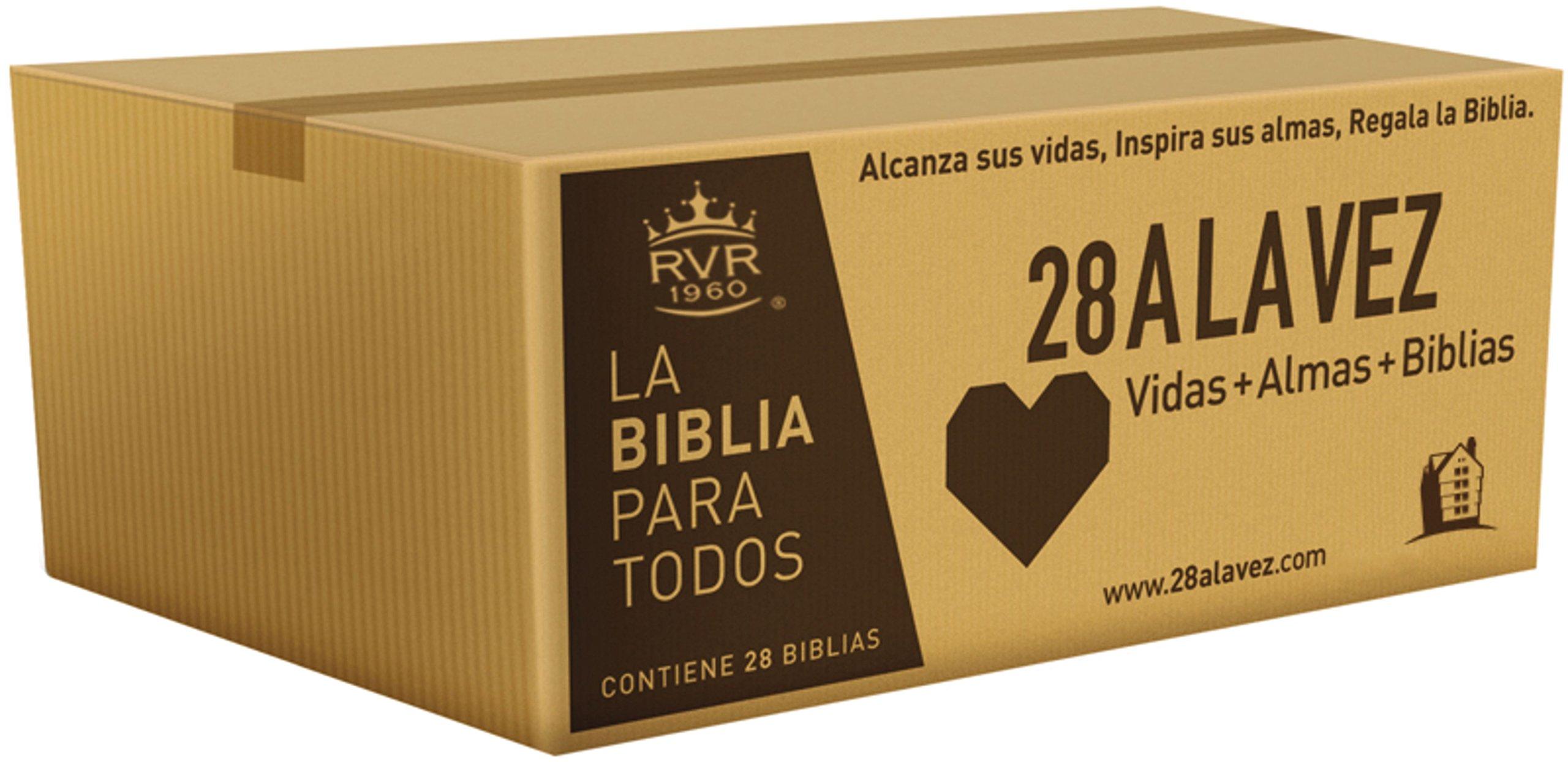 RVR60-Santa Biblia - Edición económica / Paquete de 28 (Spanish Edition) (Spanish) Paperback – April 25, 2017