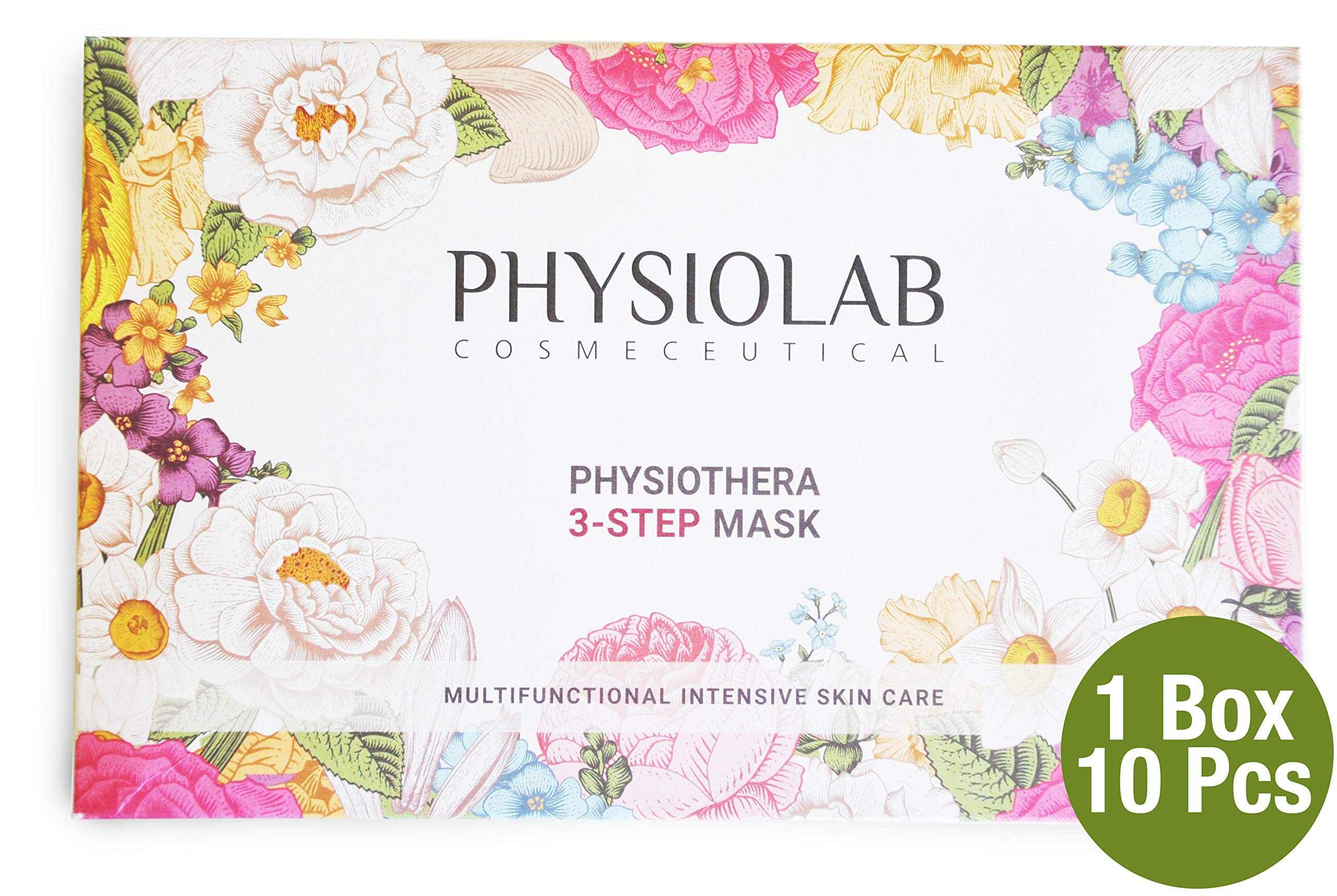 Physiothera 3 Step Mask 10pc Multi-functional Intensive Skin Care - Made in Korea