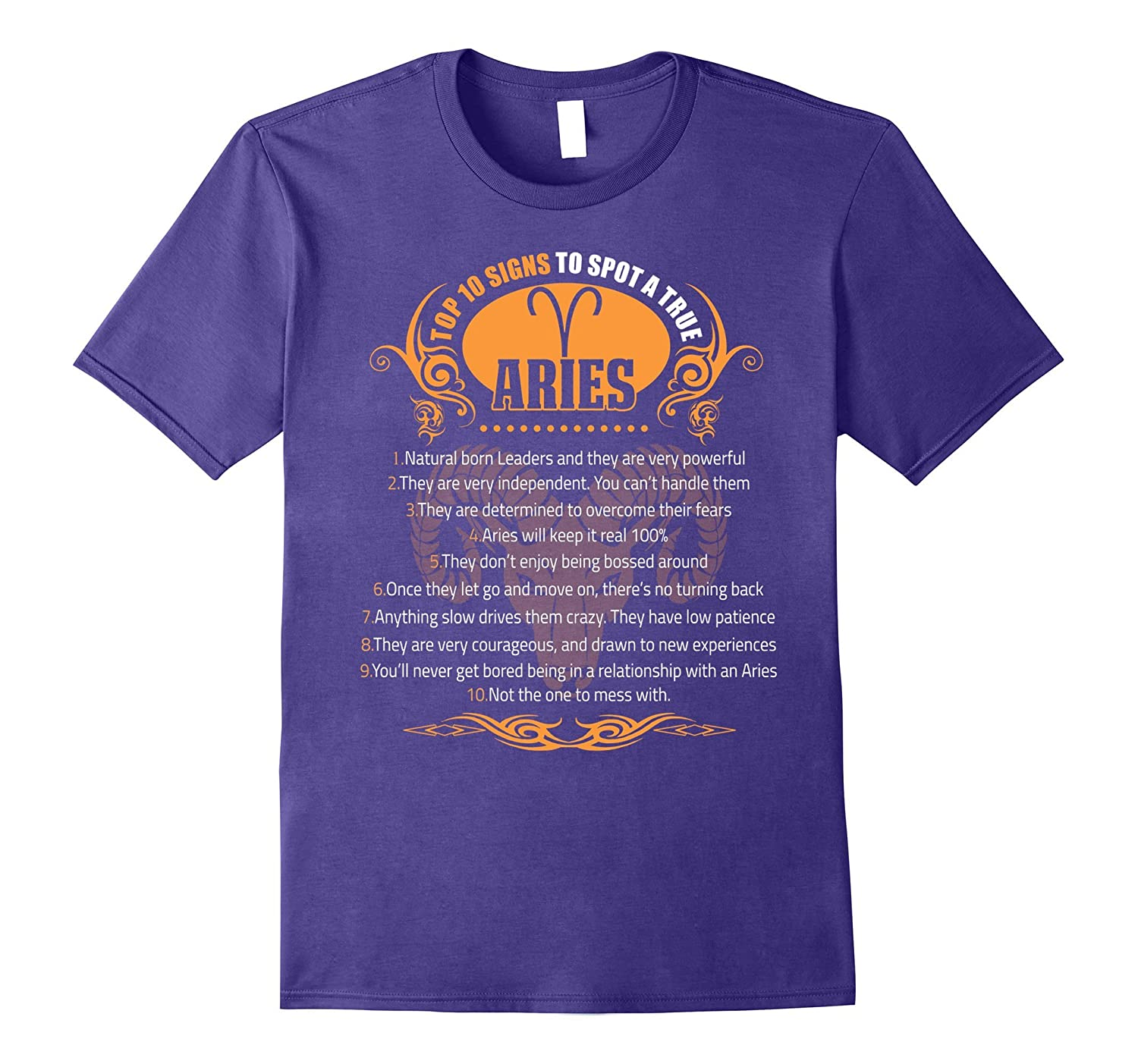 10 Signs To Spot A True Aries T-shirt Astrology Aries tee-TH