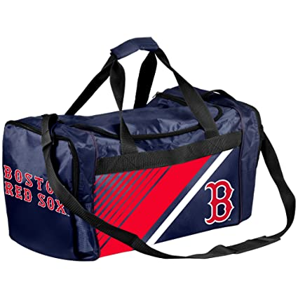 36f2c0a56bd Amazon.com   Boston Red Sox Border Stripe Duffle Bag   Sports   Outdoors