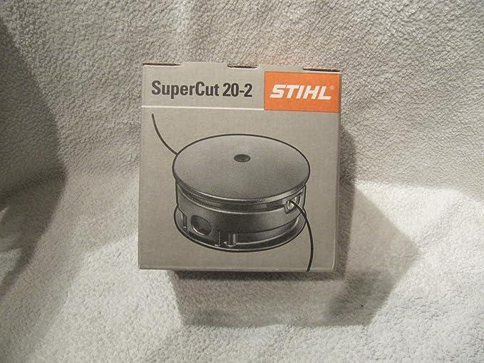 Stihl 40027102162 40027102162-Cabezal para cortacésped Supercot 20-2 FS55,65,80,85,87,120 4002 710 2162, Multicolor: Amazon.es: Bricolaje y herramientas