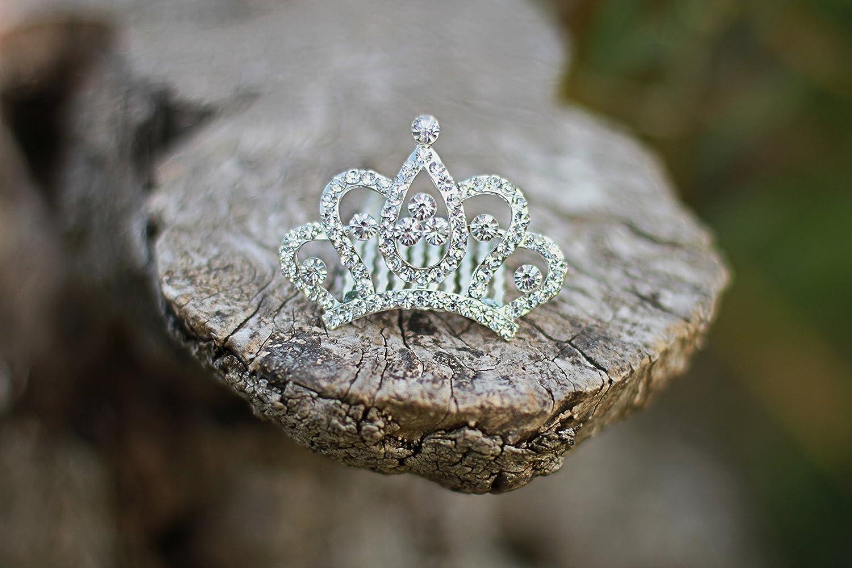 Hair accessories vending machines - Amazon Com Princess Crown Comb Tiara Hair Clips For Princess Party Favor 12 Pcs Toys Games