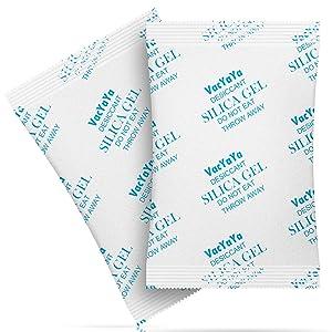 VacYaYa 20 Gram(30Packs) Food Grade Moisture Absorber Silica Gel Desiccant Packets for Storage,Desiccant Silica Gel Packs Food Safe for Moisture