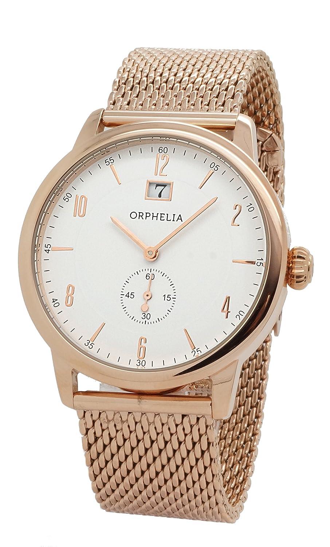 ORPHELIA Herren-Armbanduhr Analog Quarz Edelstahl 122-9706-17
