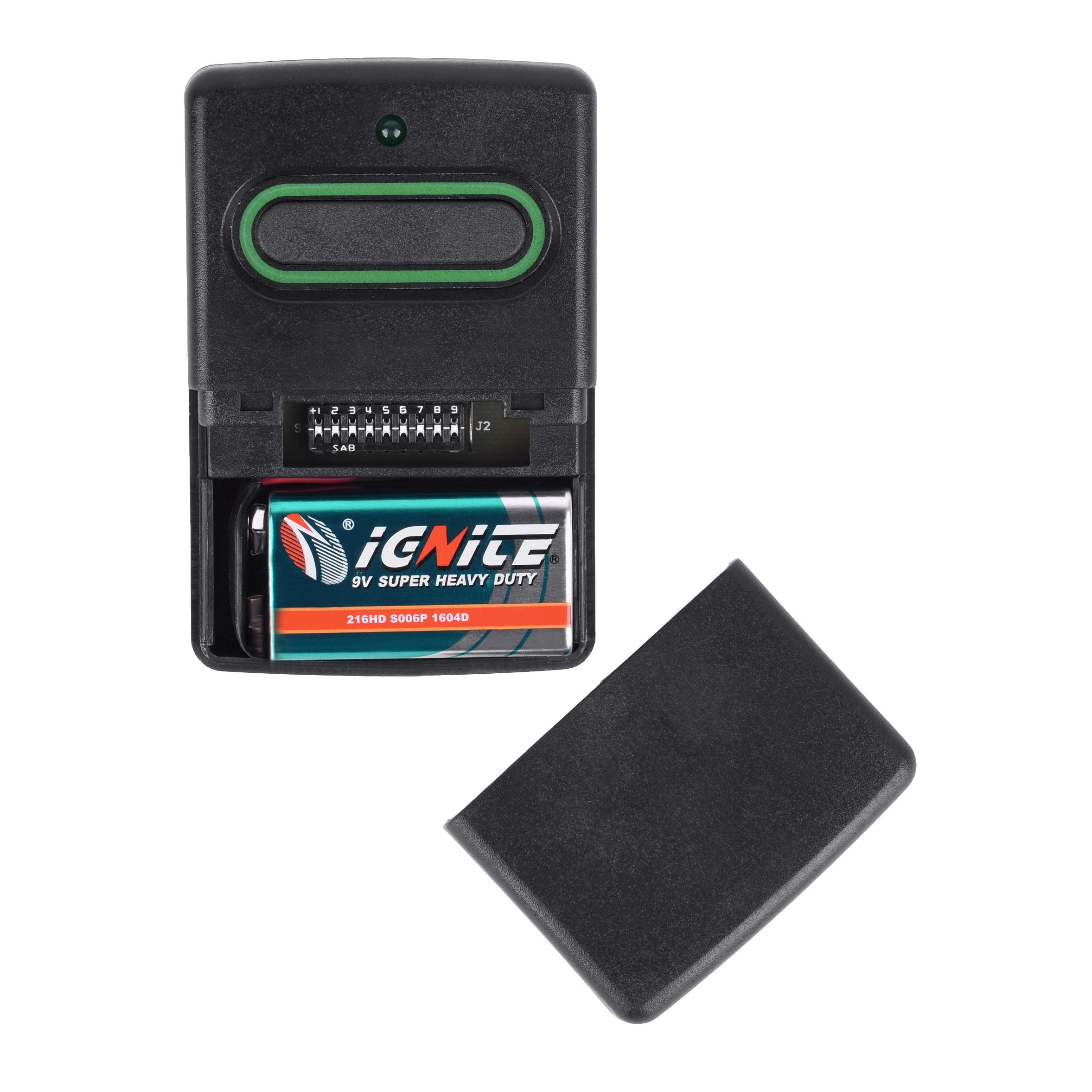 ExcelTek RB741 Compatible Garage Door Remote Control with GTO Mighty Mule RB743 FM134 FM135 318MHz (3 Pack) by ExcelTek (Image #5)