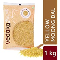 Amazon Brand - Vedaka Popular Moong Dal (Yellow), 1 kg