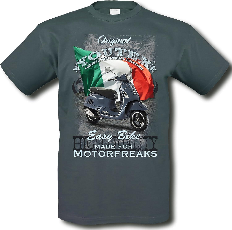 3XL youtex Vespa GTS Motorroller Vintage T-Shirt