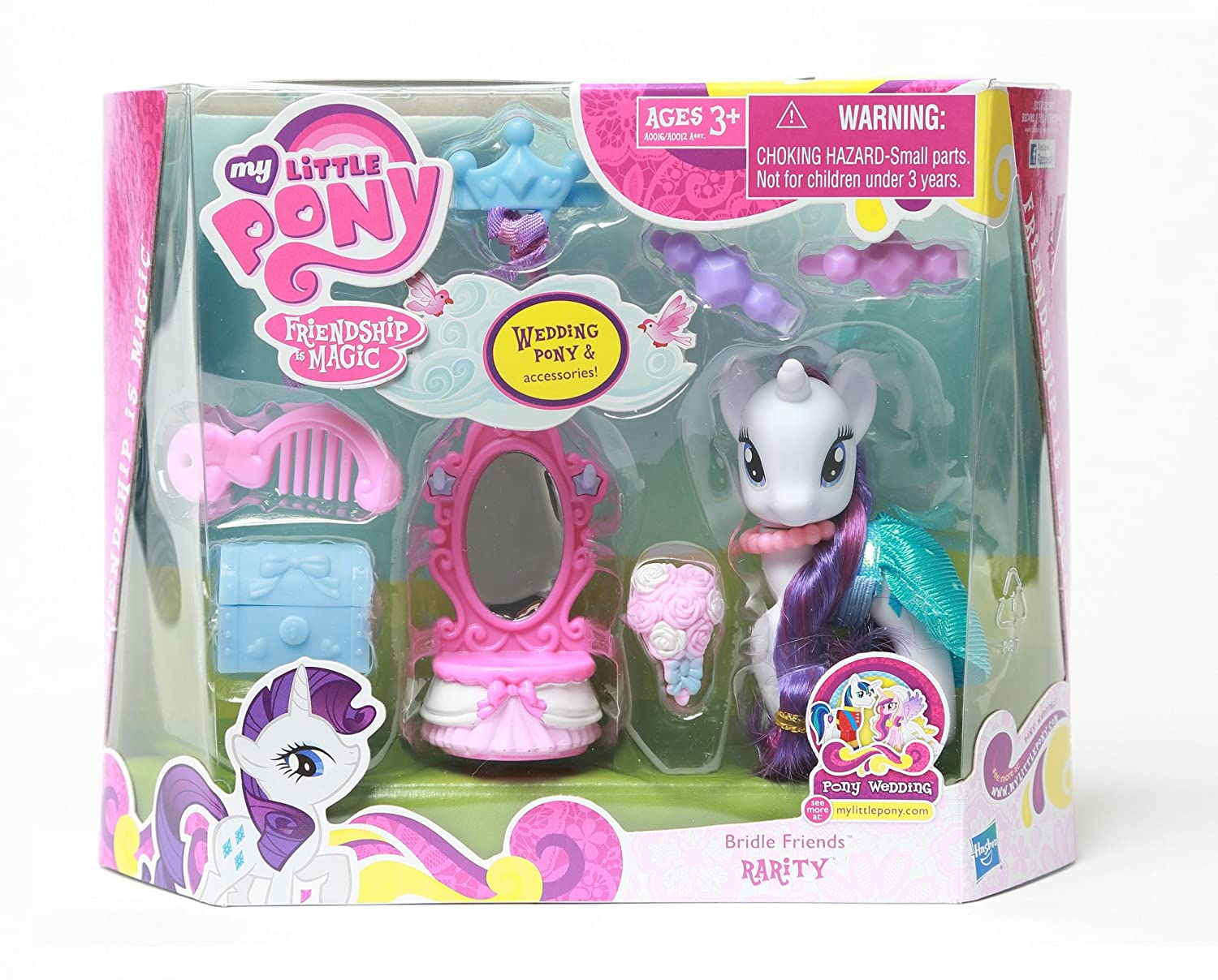 Amazon My Little Pony Bridle Friends Rarity Toys Games