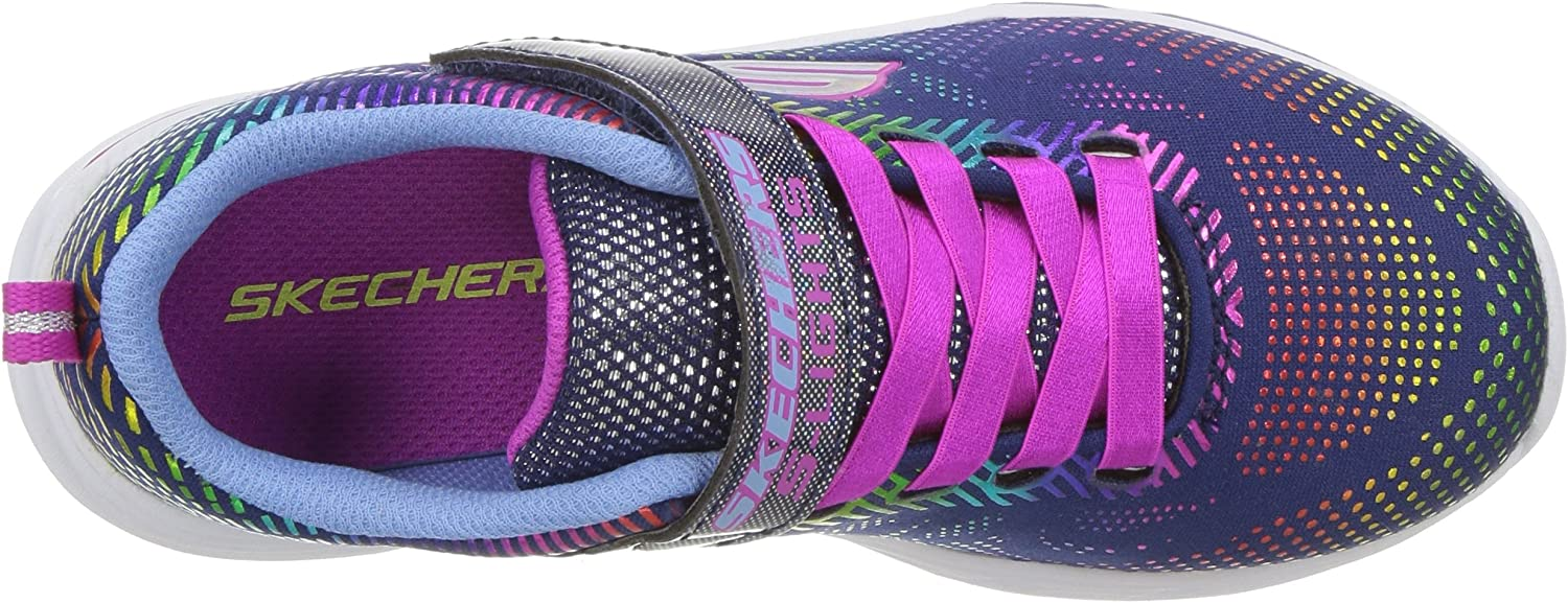 Skechers Kids' Litebeams Gleam N'dream Sneaker