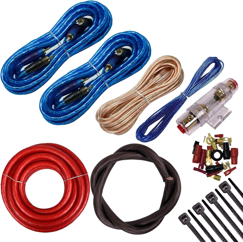 KFC-D681C 6x8 360 Watt 2-Way Speakers Amp Kit Kenwood KAC-6407 550 Watts 4-Channel Amplifier + 4