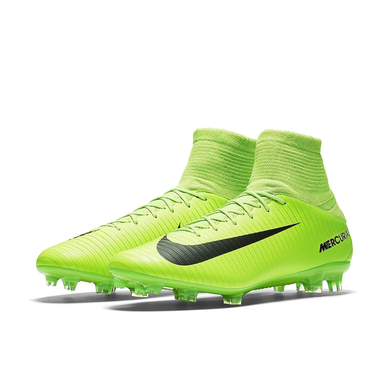 Nike Mercurial Veloce III FG Suelo Duro Adulto 40 Bota de fútbol - Botas de fútbol (Suelo Duro, Adulto, Masculino, Suela con Tacos, Verde, ...