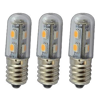 PB-Versand 3 bombillas led pequeñas, E14/SES, 1 W