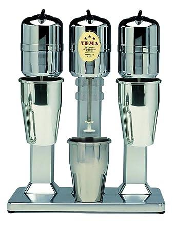 Vema FZ 2075/3/L Frozen - Batidora para preparar cócteles (3 tazas, acero inoxidable, diseño de mariposa ondulada, 20.000 revoluciones, fabricado en Italia): Amazon.es: Industria, empresas y ciencia